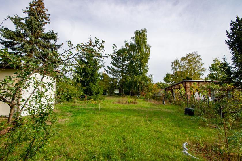 Zu Fuß ins Institut: großes Grundstück in Golm